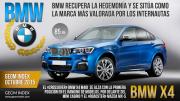 BMW la marca más valorada por los internautas en Octubre