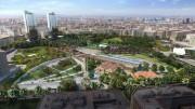 Parque Central de Valencia sobre el que se ha debatido hoy la modificación del proyecto