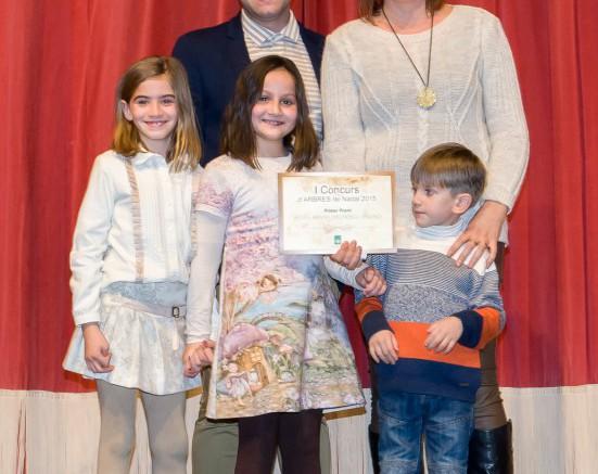 Premiados en el concurso navideño de Carlet