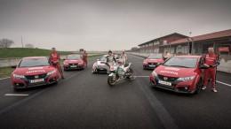 Honda te enseña la competición en 360 grados
