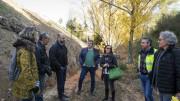 Visita de los diputados al barranco de Font Jordana de Agullent
