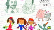 Dibujos del almanaque municipal 2016 de Almussafes