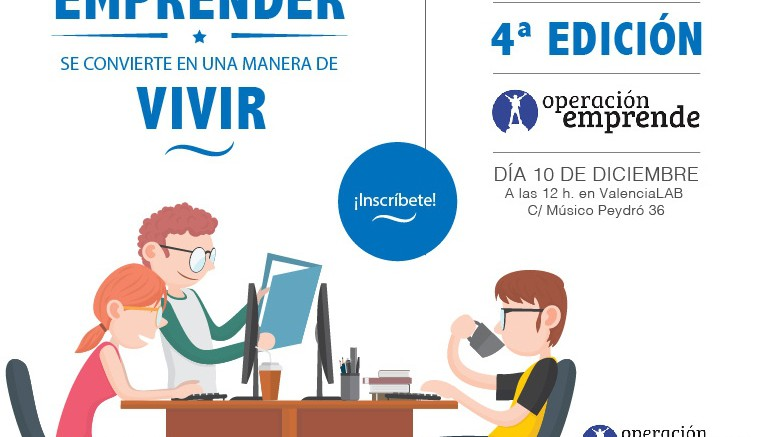 Cartel IV edición Operación Emprende