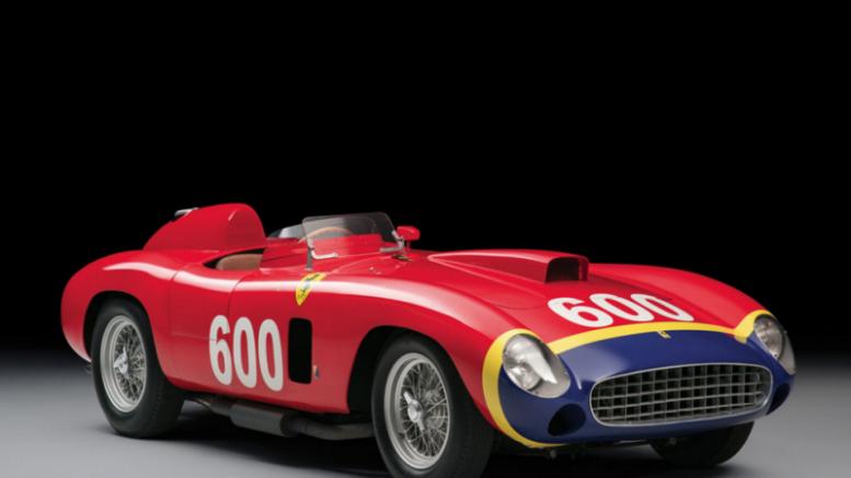 El Ferrari, 290 MM, conducido por Fangio vendido por 28 millones de dólares