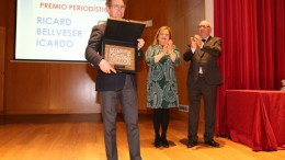 Ricard Bellveser, XV Premio Periodístico del Ateneo Mercantil de Valencia