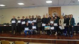 Participantes del Concurso de Escaparatismo de Alberic