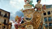 Un monumentos de la fiesta de las Fallas