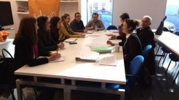 Los técnicos del Ayuntamiento de Alzira reunidos para establecer plazos