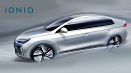El nuevo Hyundai de combustible alternativo, IONIQ