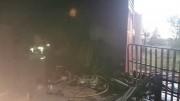 Interior de la nave de la fábrica de ajos tras el incendio. Fuente: locutorlocal.blogspot.com