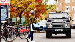 El Land Rover Defender hace de taxi en Londres