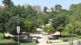 Uno de los parques de Ontinyent
