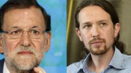 Mariano Rajoy y Pablo Iglesias