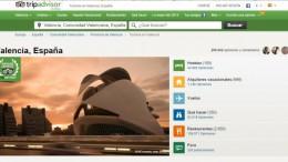 Valencia destino emergente de año elegido por TripAdvisor