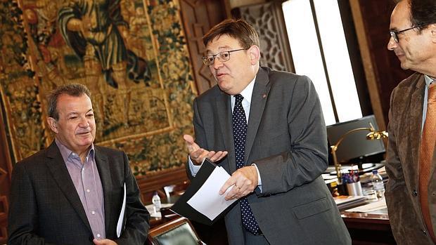 El presidente de la Geenralitat, Ximo Puig