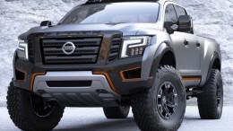 Nissan Titan Warrior concept presentado en Detroit, brutal