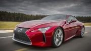 Lexus presenta su espectacular LC 500 en Detroit