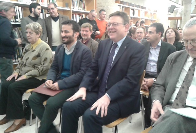 Ximo Puig y Vicent Marzá, PP