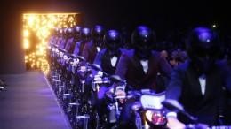 Yamaha en la semana de la moda de Milán con la gama MT