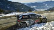 Sébastien Ogier gana por tercera vez consecutiva el Rally de Monte Carlo