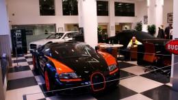 Un Bugatti Veyron Grand Sport Vitesse World Record Edition a subasta