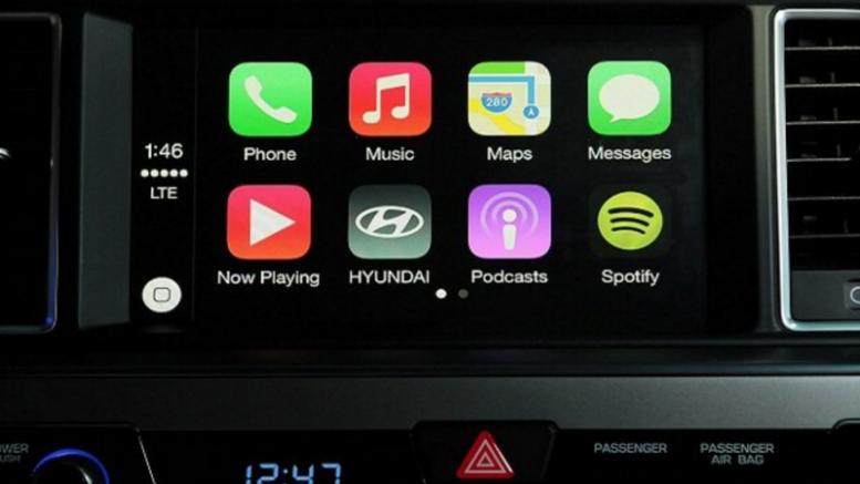 El Hyundai Sonata finalmente tendrá carplay a principios de 2016