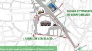 Valencia cierra al tráfico el entorno de la Lonja desde finales de enero