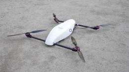 El dron multirrotor