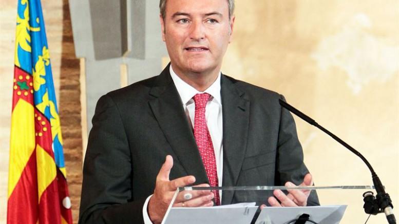 El expresidente de la Generalitat Valenciana, Alberto Fabra