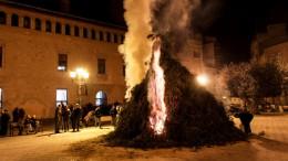 Hoguera de Sant Antoni en LLíria