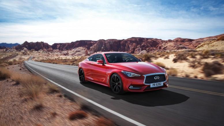 Debut mundial del nuevo Infiniti Q60 en Detroit
