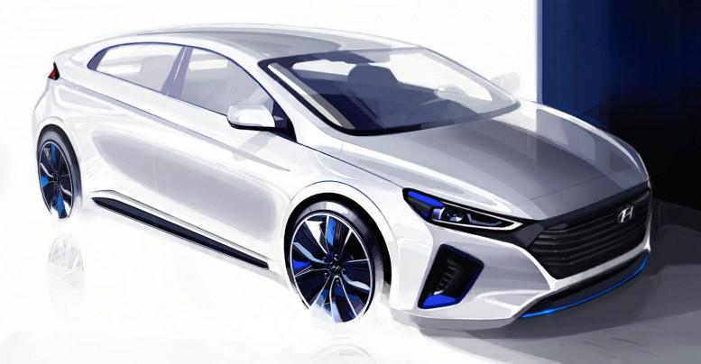 Hyundai Motor revela el interior y exterior del Ioniq