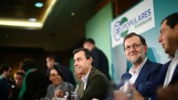 El presidente del Gobierno, Mariano Rajoy, quien ha ahblado hoy del caso de corrupción de Valencia
