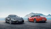 Porsche 718 Boxster: el nuevo roadster con motor central y cuatro cilindros