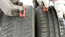 El 37% de conductores circula con profundidad ilegal en los neumáticos