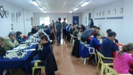 Partidas de ajedrez durante el torneo