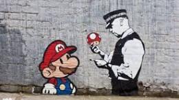 Un ejemplo de arte urbano de endremendo