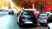 Campaña de control sobre estacionamientos en doble fila y carril-bus