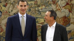 Joan Baldoví y Felipe VI