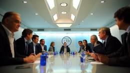 Ejecutiva Nacional del PP, lucha contra los corruptos