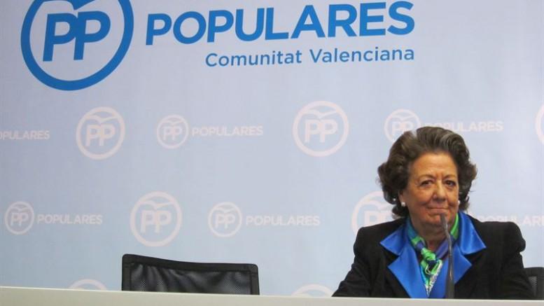 Rita Barberá, contrato