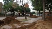 Las obras del parque
