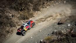 Carlos Sainz ya es segundo en el Rallye Dakar