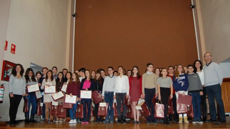 Los alumnos y alumnas premiadas