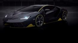 Lamborghini Centenario parcialmente revelado