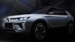 SsangYong SIV-2, un nuevo SUV que se presentará en Ginebra