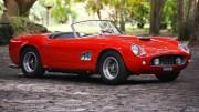 Un precioso Ferrari 250 GT SWB California Spider de 1961 sale a subasta por 17 millones de dólares