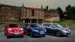 Nissan presenta su nueva gama crossover 2016