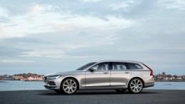 Volvo desvela el elegante y versátil V90