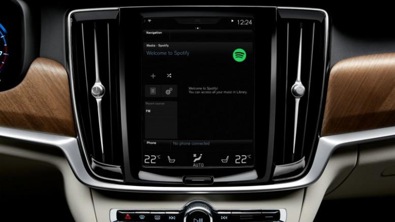 Volvo Cars integrará Spotify en los nuevos modelos